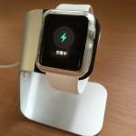 【レビュー】SpigenのApple Watchスタンドの曲線美と完成度の高さ