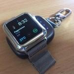 AppleWatchの充電器はこれ一択!Oittmのキーホルダー型AppleWatch用モバイルバッテリー