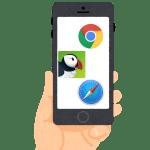 iPhoneのブラウザおすすめ3選!軽い、早い、使える無料アプリ【2018年最新版】