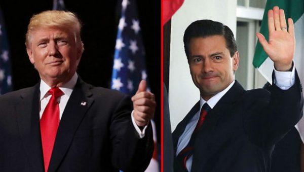 Доналд Трамп и Енрике Пења Нието