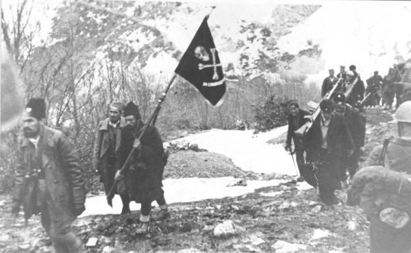 Војвода Момчило Ђујић и његови четници у повлачењу 1944.
