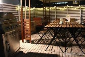 都内の農園バーベキューテラス