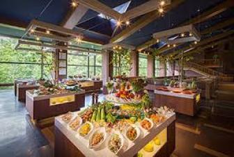 ビュッフェダイニング hal-ハル星野リゾートトマムレストラン