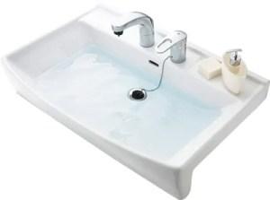 シャンピーヌの洗面ボウルは陶器製でおしゃれ!容量も大きく人気です