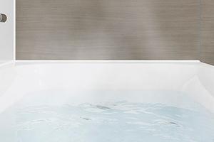 高断熱浴槽なのでお湯の温度が冷めにくい!