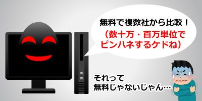 ピンハネするリフォーム業者紹介サイト