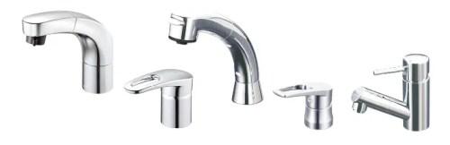 ソフィニアの水栓は3つの種類から好きな水栓をチョイス!