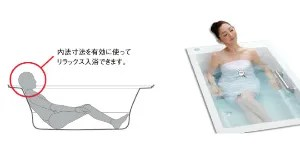 ストレートライン浴槽