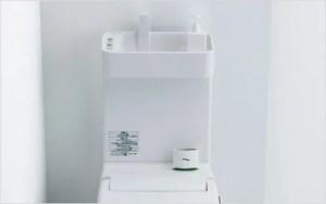 手洗い前の小物スペース