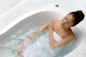 リノビオVの浴槽