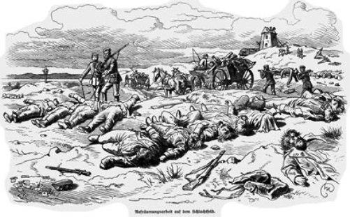 døde danske soldater Dybbøl 1864