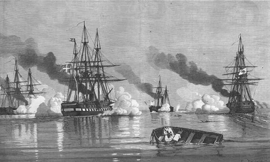 Kanoner på Østerbro brugt i krigen 1864
