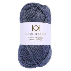 Karen Klarbæk recycled bottle yarn økotex farve Steel Grey