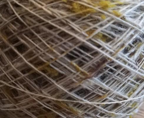 Silkegarn hør bæredygtigt