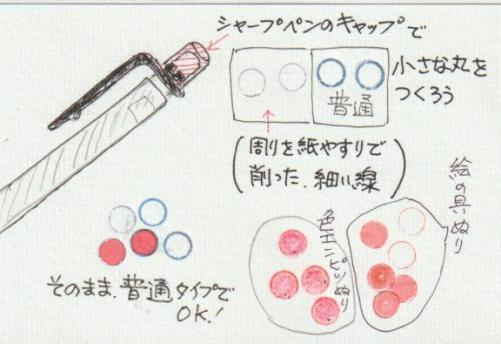 丸いハンコの作り方ー1