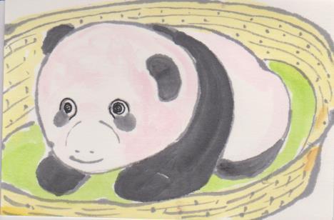 パンダの絵