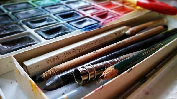 絵の具の画像