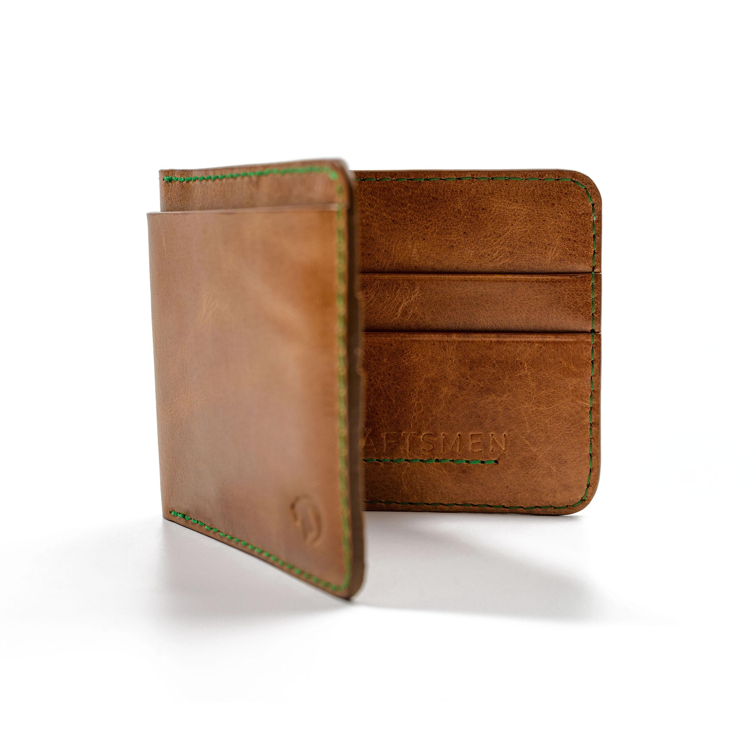 Italian Leather Bifold Wallet by Kraftsmen