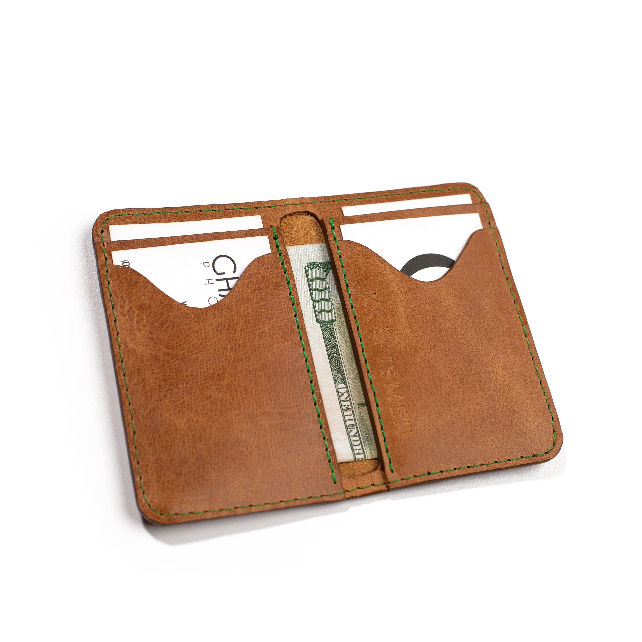 Italian Leather Card Holder by Kraftsmen