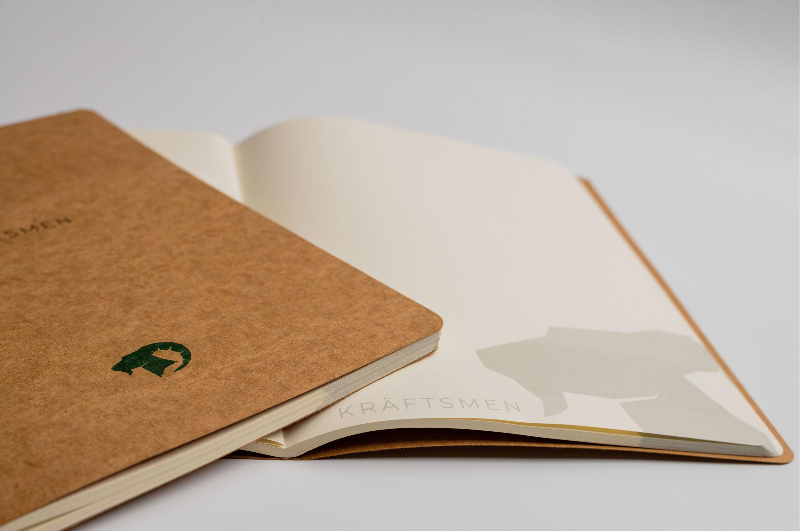 Craft notebook by Kraftsmen