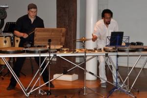 Duo Achromatic Percussion