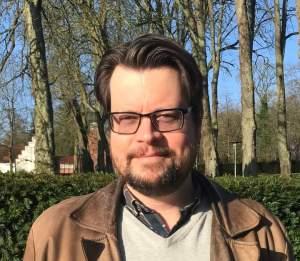 Foto af sognepræst Søren Ildved