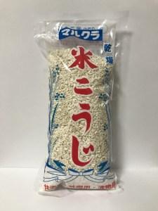 マルクラ食品の乾燥麹『米こうじ』