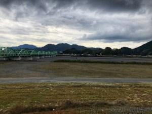 静岡県を流れる安倍川