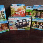 【シルバニア】GWわくわくセット(Sylvanian Families福袋)5,400円税込 ①メイン ワゴンカー 中身画像