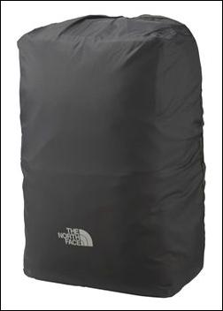 ザノースフェイス レインカバー シャトル ディパック NM91606 K ブラック シャトルデイパック 専用 NM81602 止水ジッパー 防水加工 ナイロン素材 表面 浸水 止水ファスナー 純正品 リュック リュックサック ザック デイパック バックパック ナップサック 写真 画像