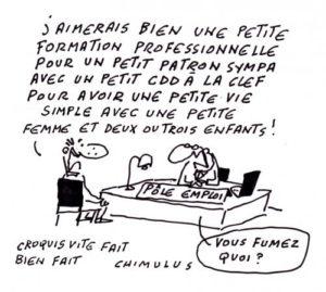 el paro en francia pole emploi
