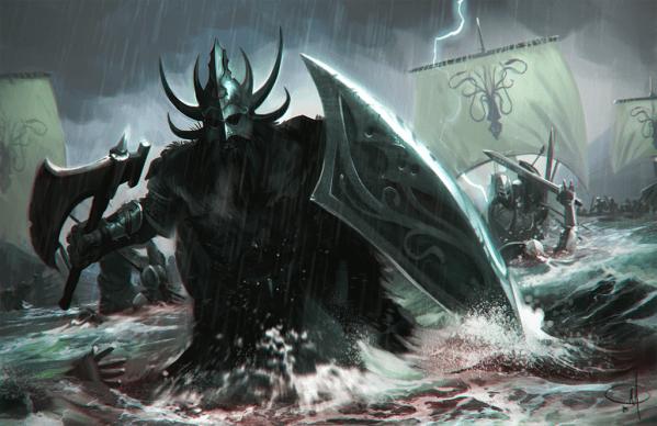 Ilustración de Victarion Greyjoy
