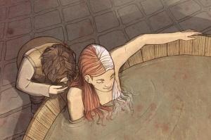 Arya Stark le dice su segundo nombre a Jaqen H'jhar