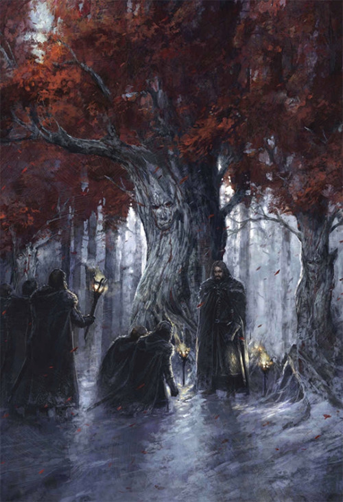 Jon Nieve toma el juramento de la Guardia de la Noche