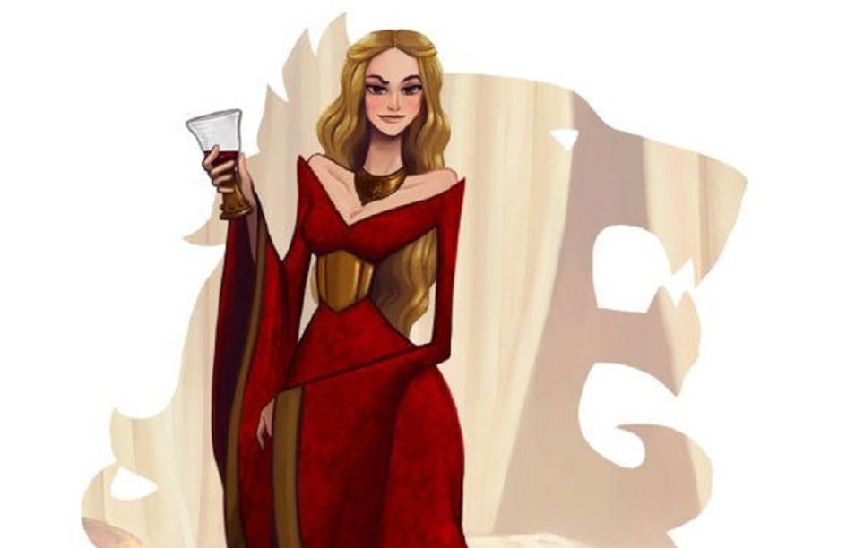 Ilustración de Cersei Lannister