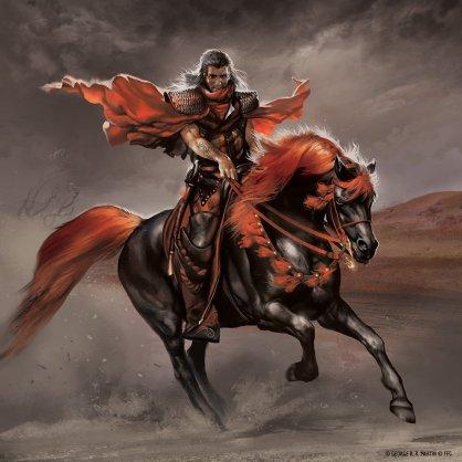 Ilustración de Oberyn Martell