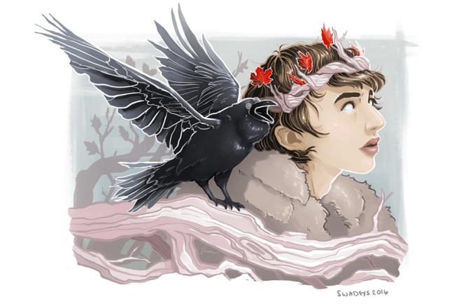 Bran Stark, posible Azor Ahai, y el cuervo de tres ojos