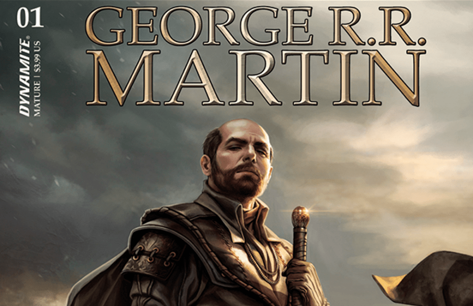 Portada del cómic de Choque de Reyes mostrando a Stannis Baratheon por Magali Villeneuve