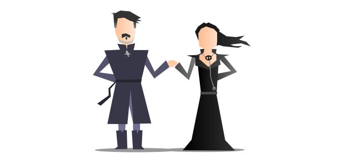 Petyr Baelish, Meñique y Alayne Stone, Sansa Stark