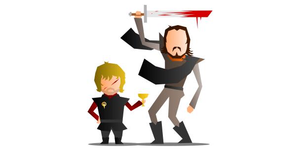 Tyrion, Bronn