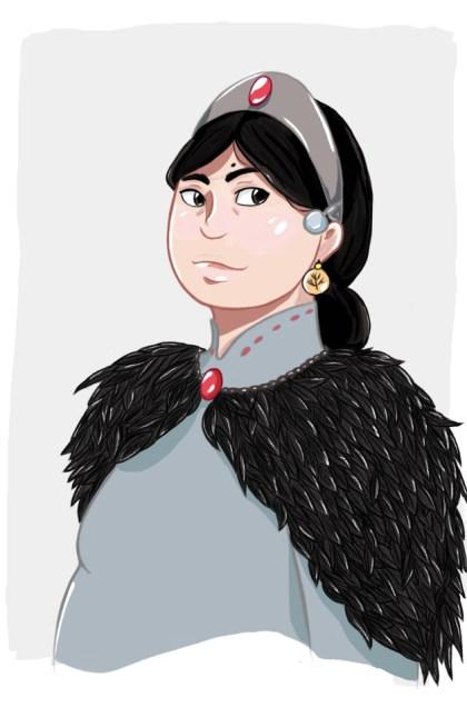 Betha Blackwood, esposa de Aegon V