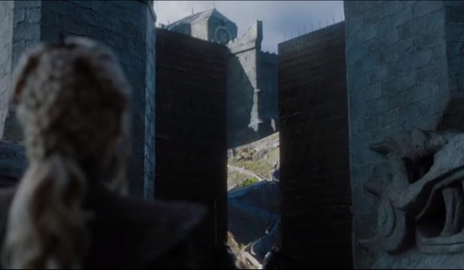 Daenerys en Rocadragón
