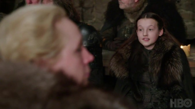 Lyanna Mormont en la séptima temporada de Juego de Tronos