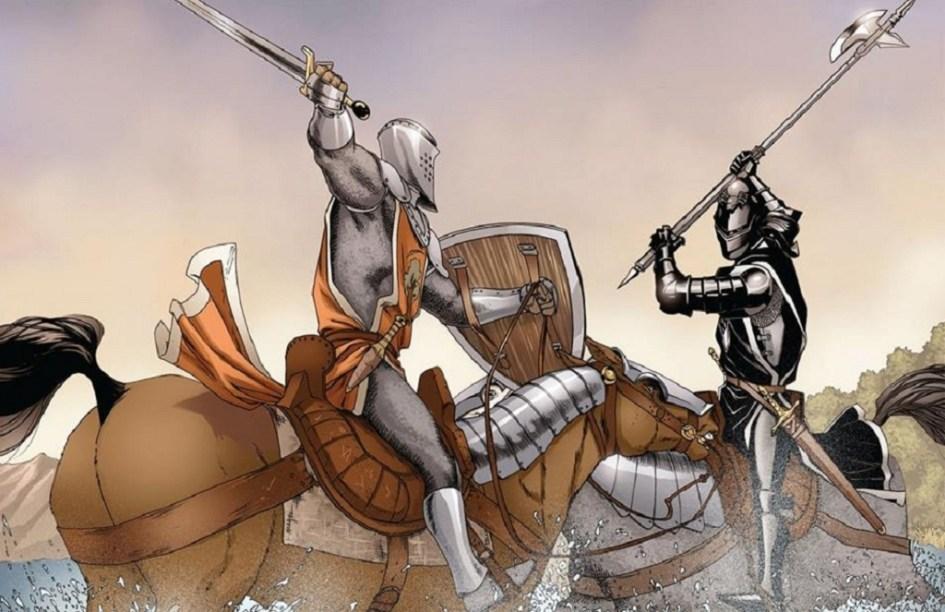 Ser Duncan, Luchas Inchfield, Caballeros errantes, mercenarios, Ser Duncan el Alto, Ser Duncan the Tall,