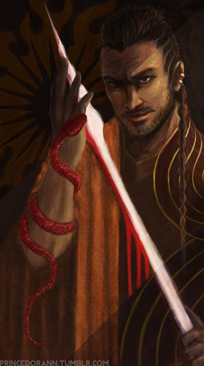 Oberyn Martell la Víbora Roja