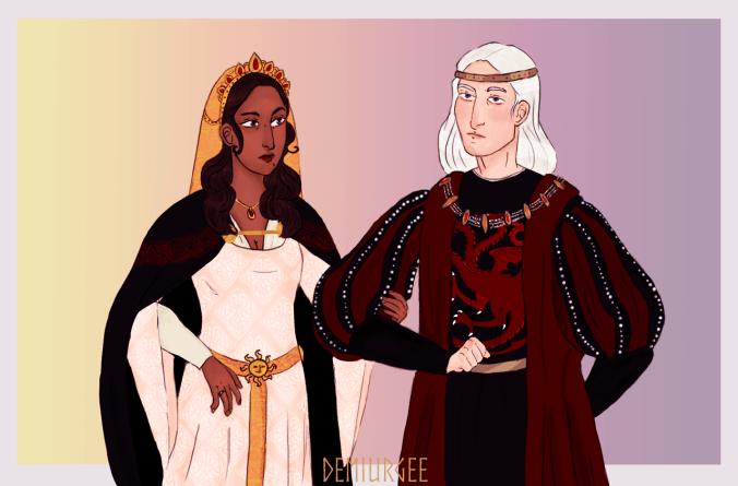Boda de Rhaegar Targaryen y Elia Martell