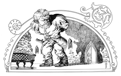 Dibujo de Tyrion Lannister