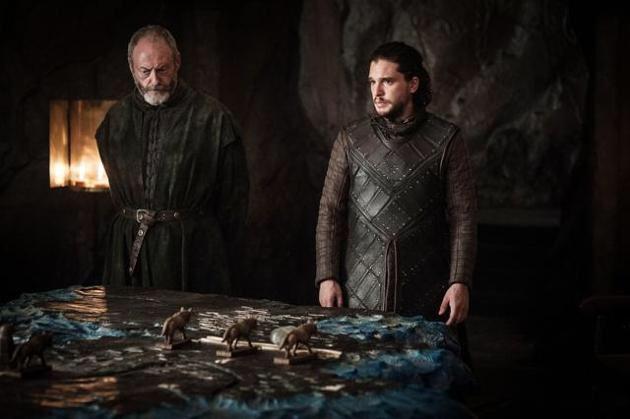 Davos y Jon