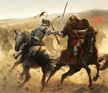 Barristan Selmy contra Maelys el Monstruoso