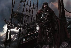 Euron Greyjoy by Mike Hallstein©
